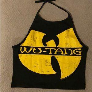 Wu-tang crop top